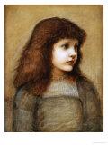 Portrait of Gertie Lewis  Half-Length