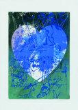Blaues Herz