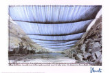 Arkansas River from Underneath - Signed
