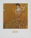 Adele Bloch-Bauer I Reproduction d'art par Gustav Klimt