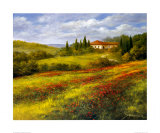 Landscape with Poppies I