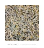 No. 4, 1949 Reproduction d'art par Jackson Pollock