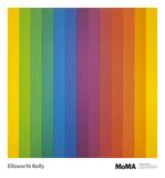Spectrum IV Reproduction d'art par Ellsworth Kelly