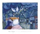 The Dream, 1939 Reproduction d'art par Marc Chagall
