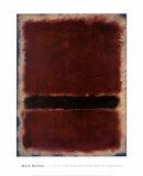 Sans titre, 1963 Reproduction d'art par Mark Rothko