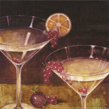 Martini with Grapes II