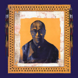His Holiness the Dalai Lama I Reproduction d'art par Hedy Klineman