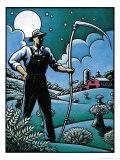 Farmer with Scythe