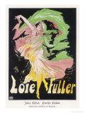 Loie Fuller Giclée premium par Jules Chéret