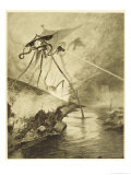 The War of the Worlds  The Martian Fighting-Machines in the Thames Valley