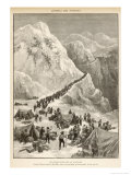 The Klondike Gold Rush  The Stream of Prospectors Making Their Way Across the Chilcot Pass