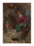 Cinderella by the Fireside