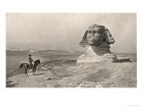 "Egyptian Campaign ""L'Oedipe""  Napoleon Face to Face with the Sphinx"