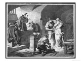 German Inquisitors Question a Suspected Witch While the Instruments of Torture are Prepared