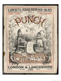 Classic Punch Cover with Mr Punch and His Dog Toby