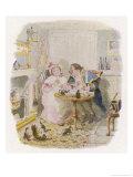 Oliver Twist: Mr Bumble and Mrs Corney Taking Tea