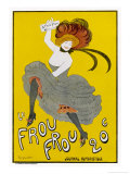 Poster for Le Frou-Frou Humorous Magazine