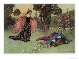 A Midsummer Night's Dream  Titania and Bottom