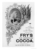 An Advertisement for Fry's Cocoa to Celebrate Queen Victoria's Diamond Jubilee