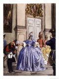 Casanova Kisses the Hand of a Russian Aristocrat