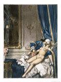 Giovanni Giacomo Casanova Chevalier de Saingalt  with Madame F at Corfu