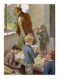 Franz Schubert Austrian Musician Working as a Schoolteacher
