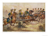 British Royal Horse Artillery in Action