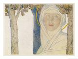 Saint Brigid Irish Slave Who Became a Nun Who Became a Saint Also Known as Bride Bridget