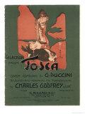 Tosca, the Death of Scarpia Giclée premium par Adolfo Hohenstein