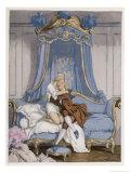 Giovanni Giacomo Casanova Chevalier de Saingalt  with the Young Comtesse at Venice
