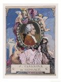 Giovanni Giacomo Casanova Chevalier de Seingalt Italian Adventurer