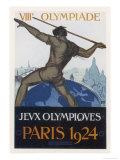 Poster for the Paris Olympiad