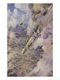Lieutenant Warneford Shoots Down a Zeppelin Over Belgium