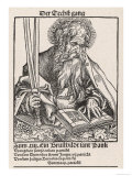Saint Paul of Tarsus Rabbi Tentmaker Missionary Reading Book Swords in Hand Giclée