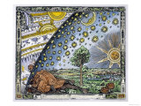 Medieval Missionary Finds a Place Where the Earth Touches Heaven Giclée premium