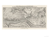 Kiev: The Oldest Known Map Giclée