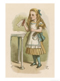 "Alice Holds the Bottle Which Says ""Drink Me"" on the Label"