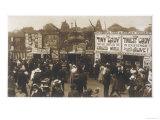 Sideshows at Hull Fair