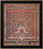Mandala of Vaishravana Reproduction encadrée