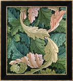"""Acanthus"" Wallpaper Design  1875"