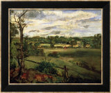 View of Highgate from Hampstead Heath  circa 1834
