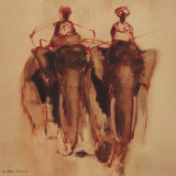 Meerut Reproduction d'art par Isabelle Del Piano