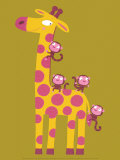 The Giraffe and the Monkeys