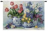 Spring Garden in Blue