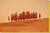 Sunset, Tuscany Tableau sur toile par W. Krecichwost