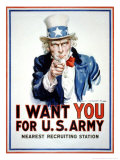 I Want You for the US Army
