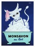Monsavon au Lait Giclée par Raymond Savignac