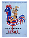France comes to Texas  1957