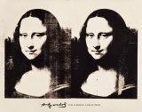 Double Mona Lisa, 1963 Reproduction d'art par Andy Warhol