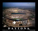 Daytona (Daytona 500, 18février2001) Reproduction d'art par Mike Smith